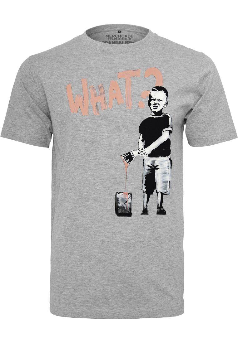 Banksy What Boy Tee - T-PAIDAT - TTUMC090 - 1