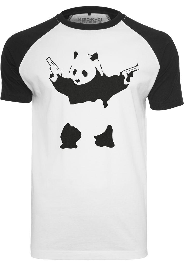 Banksy Panda Raglan Tee - T-PAIDAT - TTUMC092 - 1
