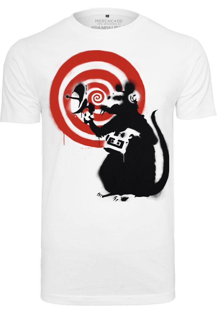 Banksy Spy Rat Tee - T-PAIDAT - TTUMC093 - 1