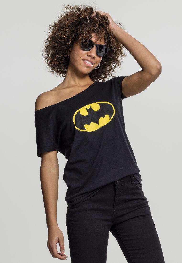 Ladies Batman Logo Tee - T-PAIDAT - TTUMC106 - 1
