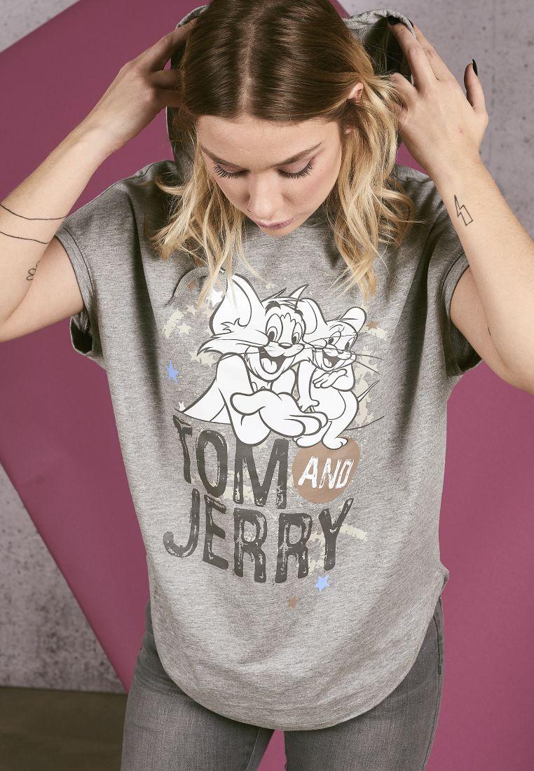 Ladies Tom & Jerry Sleeveless Hoody - HUPPARIT - TTUMC123 - 1