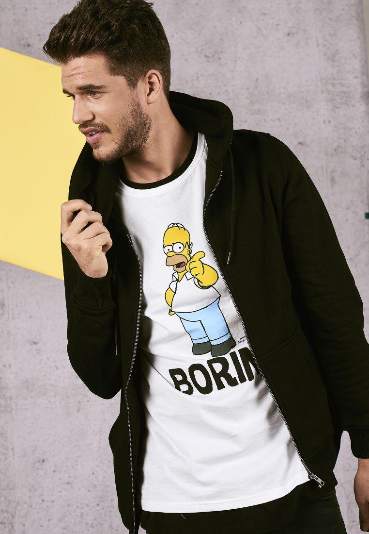 Simpsons Boring Tee - T-PAIDAT - TTUMC124 - 1