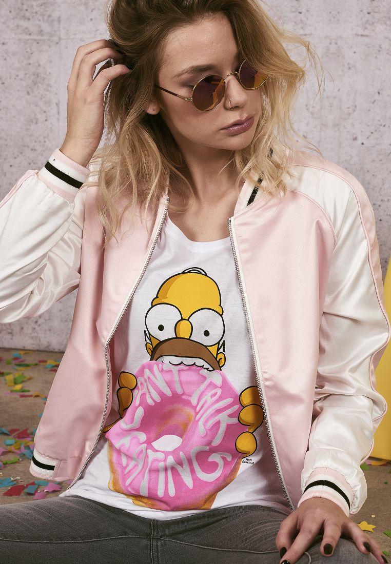 Ladies Simpsons Donut Tee - T-PAIDAT - TTUMC125 - 1