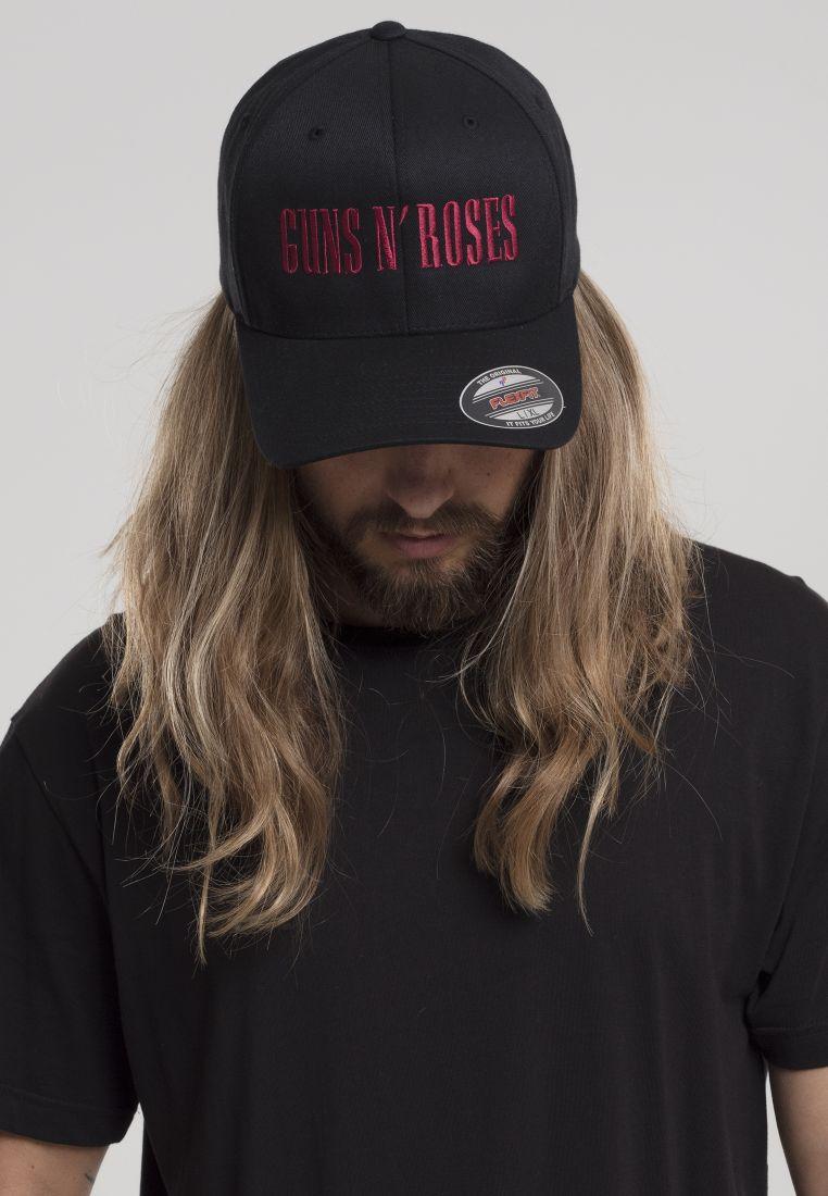 Guns n' Roses Flexfit Cap - LIPPIKSET, HATUT JA PIPOT - TTUMC126 - 1