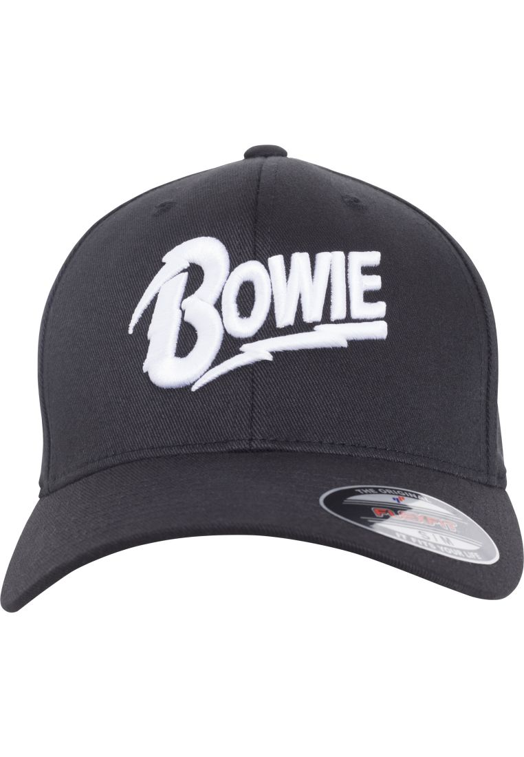 David Bowie Flexfit Cap - LIPPIKSET, HATUT JA PIPOT - TTUMC141 - 1