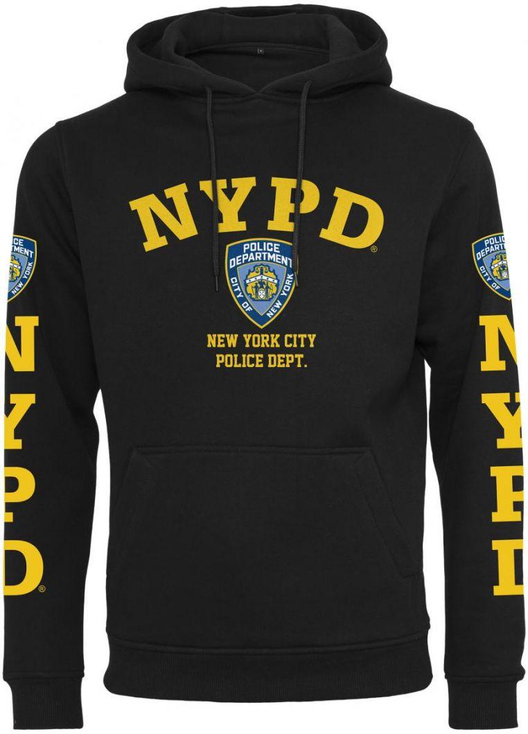 NYPD Logo Hoody - HUPPARIT - TTUMC323 - 1