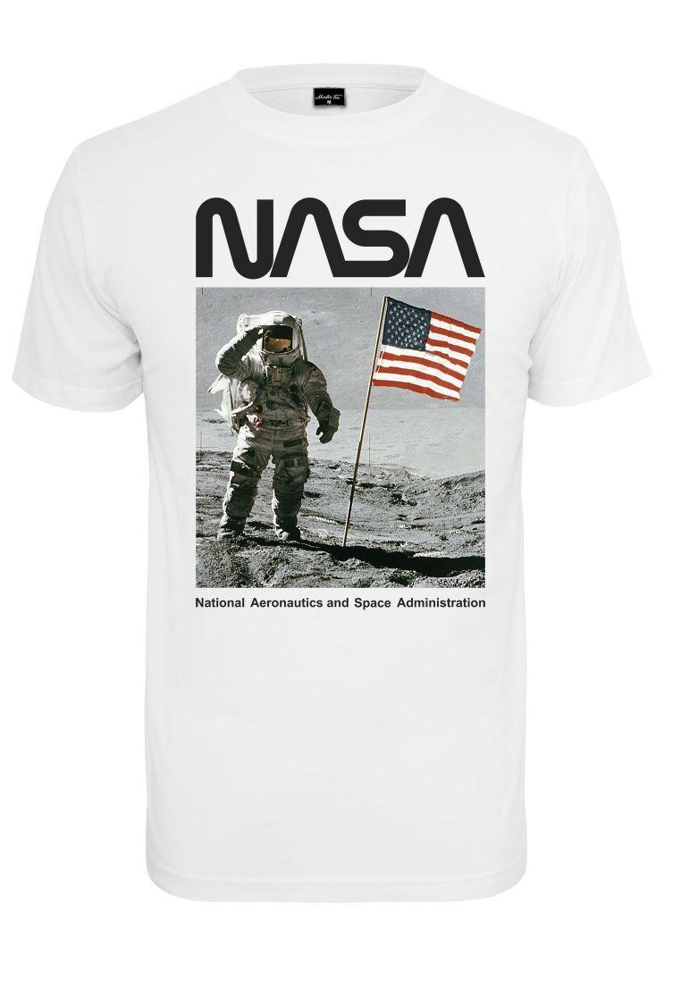 NASA Moon Man Tee white L