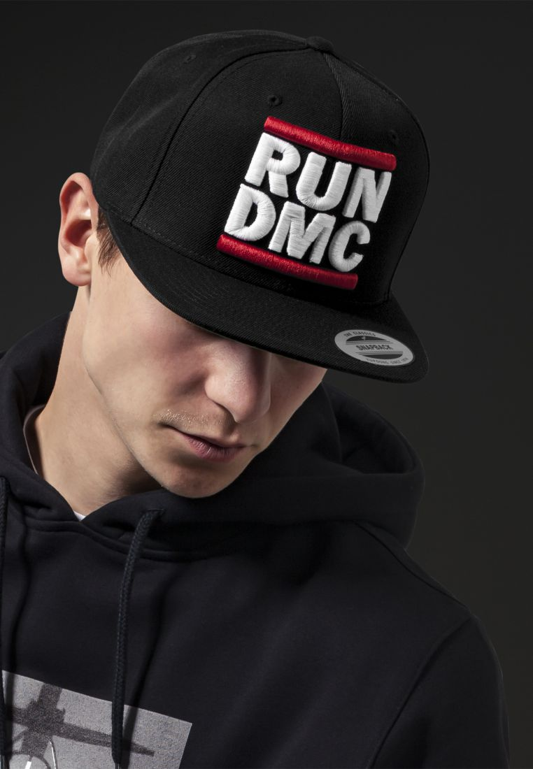 Run DMC Logo Snapback - LIPPIKSET, HATUT JA PIPOT - TTUMT259 - 1