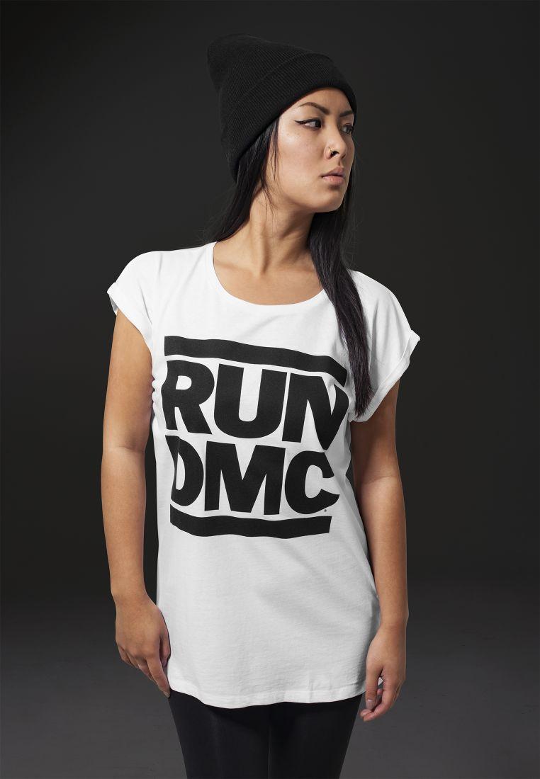 Ladies Run DMC Logo Tee Unicolored - T-PAIDAT - TTUMT282 - 1