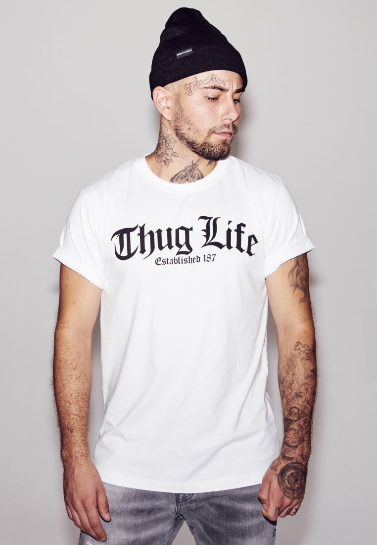 Thug Life Old English Tee - T-PAIDAT - TTUMT382 - 1