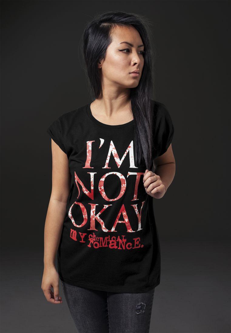 Ladies My Chemical Romance I'M NOT OK Tee - T-PAIDAT - TTUMT411 - 1