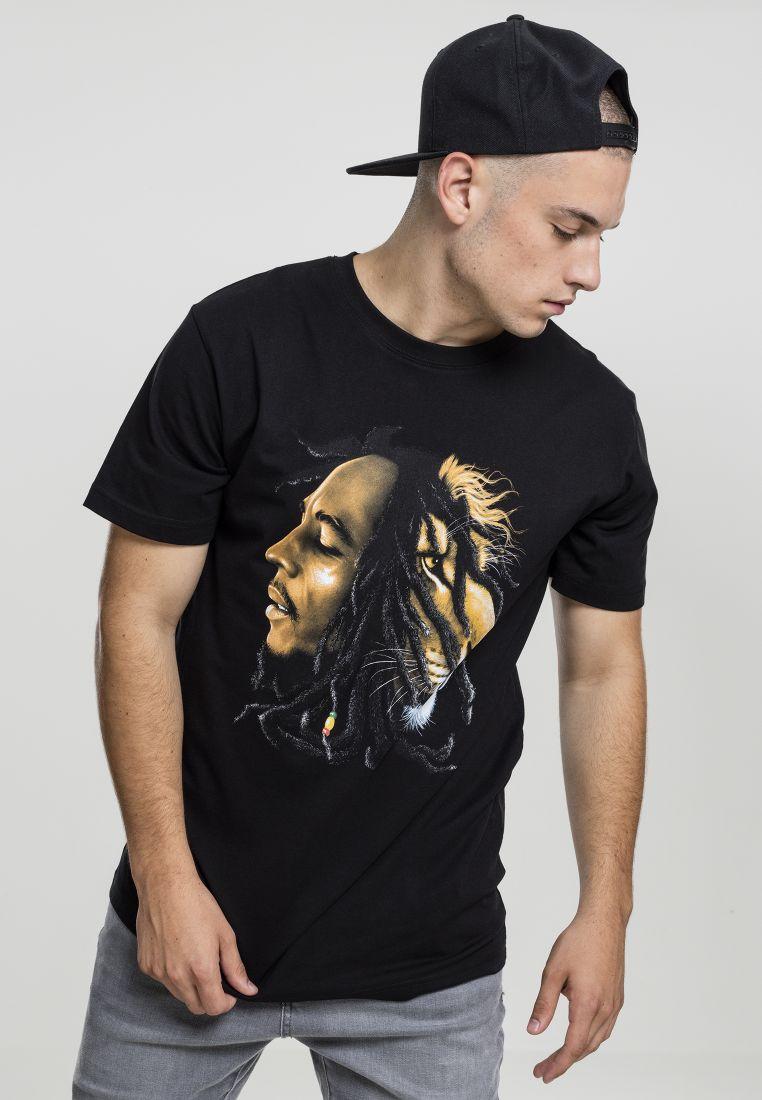 Bob Marley Lion Face Tee - T-PAIDAT - TTUMT496 - 1