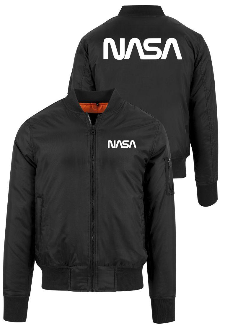 NASA Worm Logo Bomber Jacket - TAKIT - TTUMT636 - 1