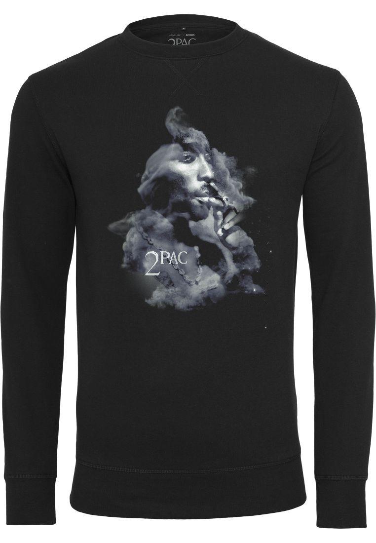 Tupac Smoke Crewneck - COLLEGE PAIDAT - TTUMT778 - 1
