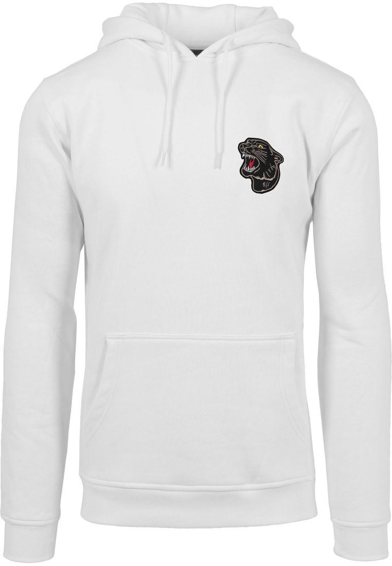 Embroidered Panther Hoody - HUPPARIT - TTUMT800 - 1