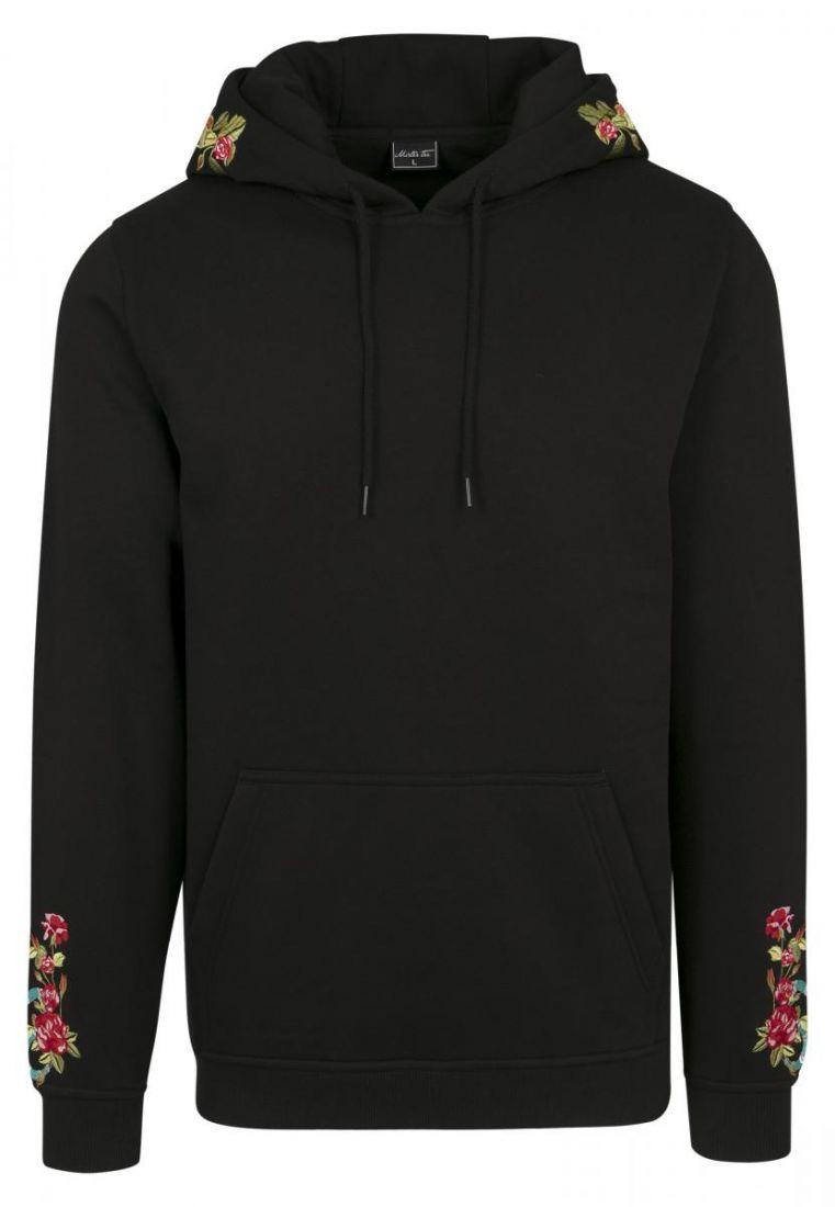 Flowers Embroidery Hoody - HUPPARIT - TTUMT849 - 1
