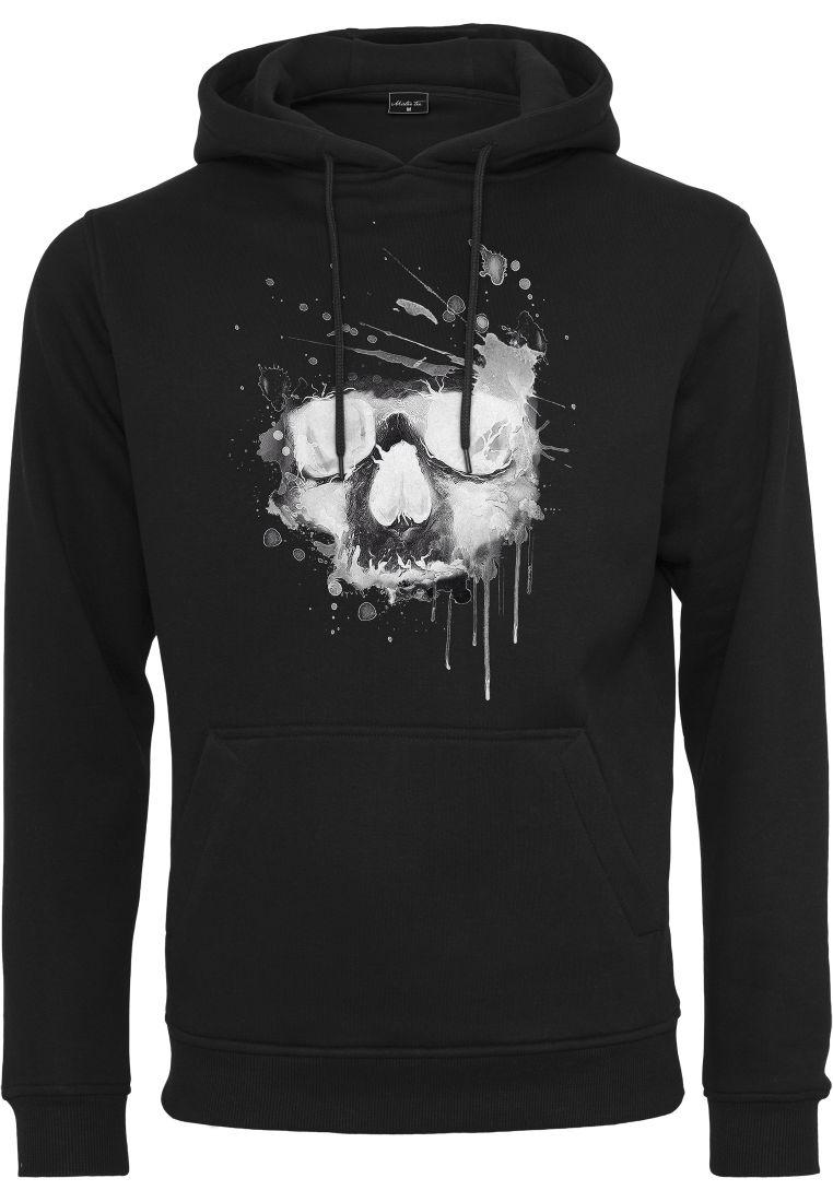 Waterpaint Skull Hoody - HUPPARIT - TTUMT879 - 1