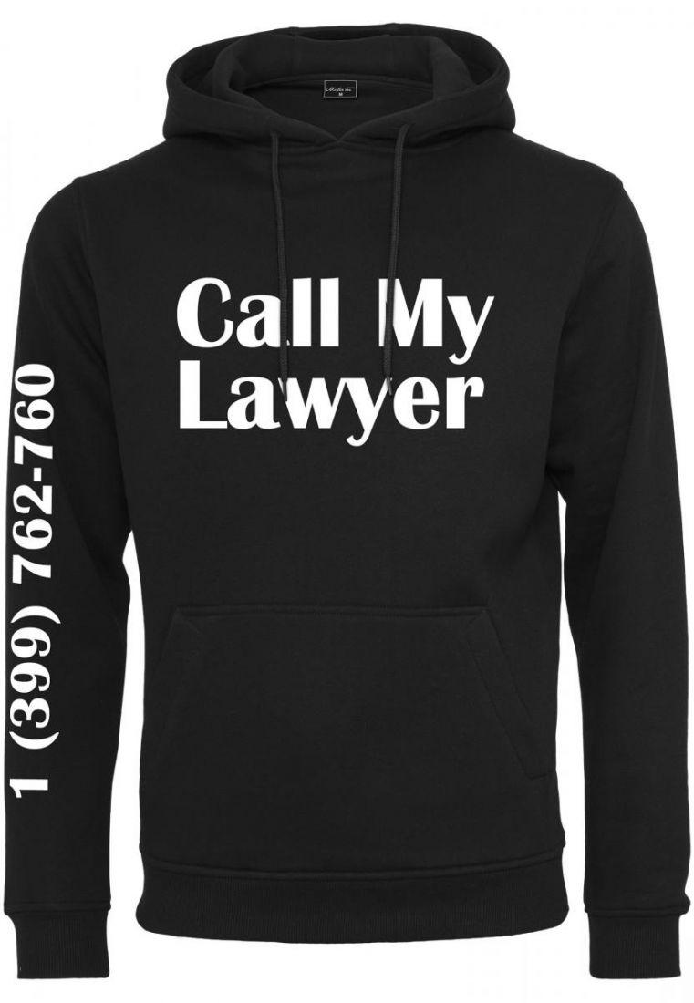 Call My Lawyer Hoody - HUPPARIT - TTUMT991 - 1