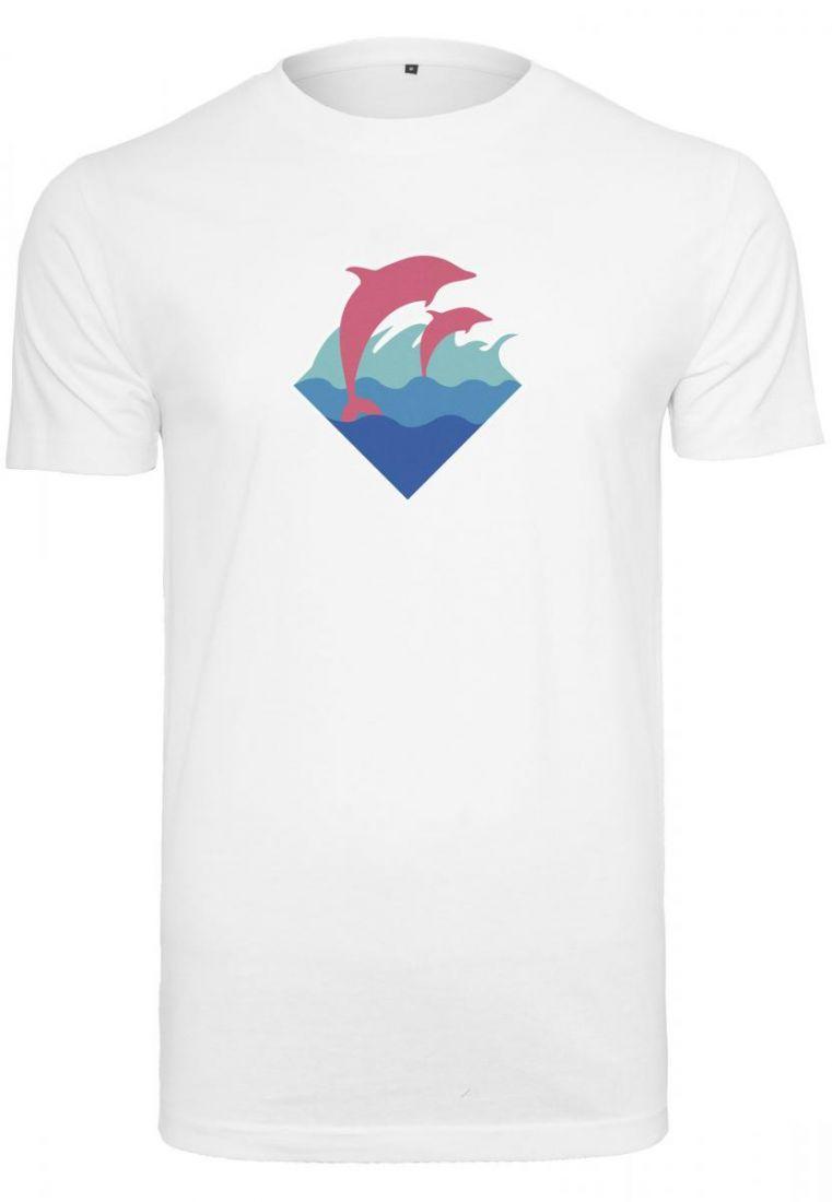 Pink Dolphin Logo Tee