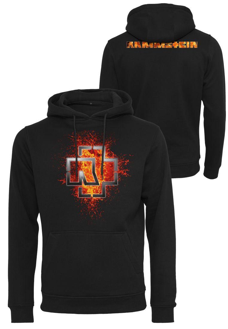 Rammstein Lava Logo Hoodie