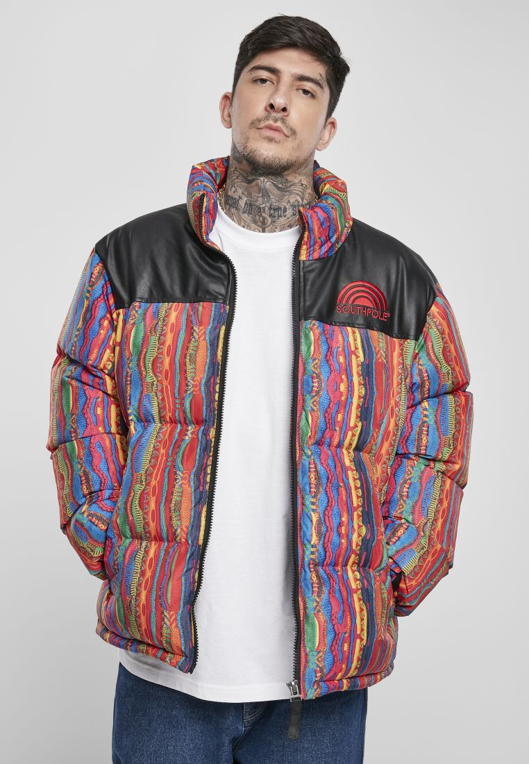 Southpole Multicolored Pattern Jacket