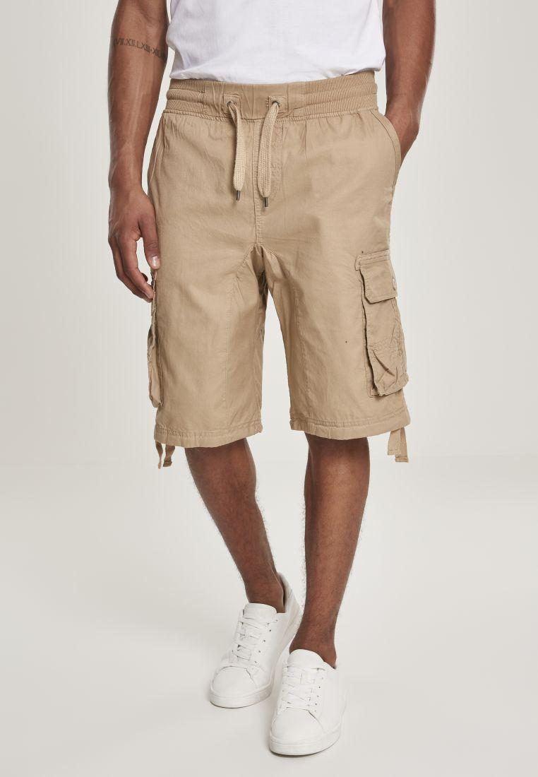 Jogger Shorts W/Cargo Fine Twill