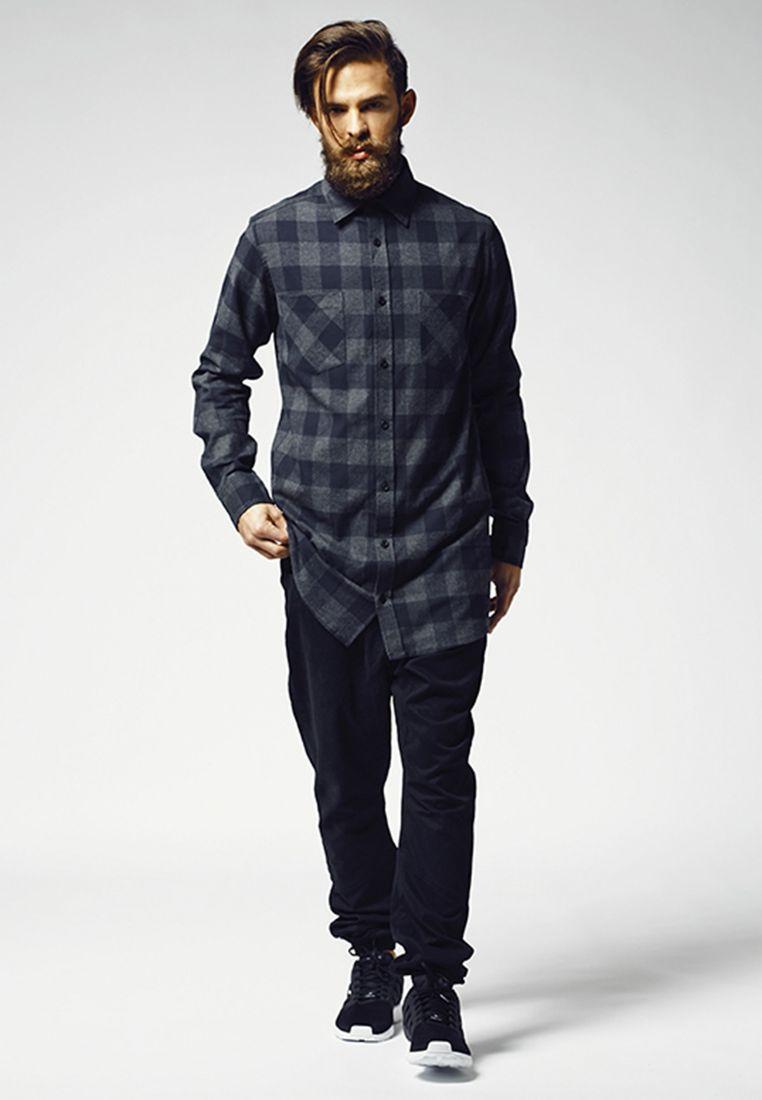 Long Checked Flanell Shirt - KAULUSPAIDAT - TTUTB1000 - 1