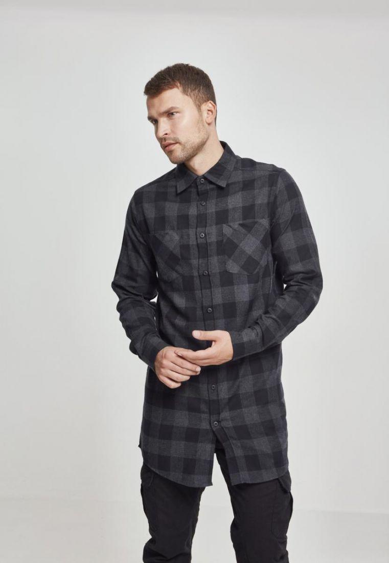 Long Checked Flanell Shirt - TILAUSTUOTTEET - TTUTB1000 - 1