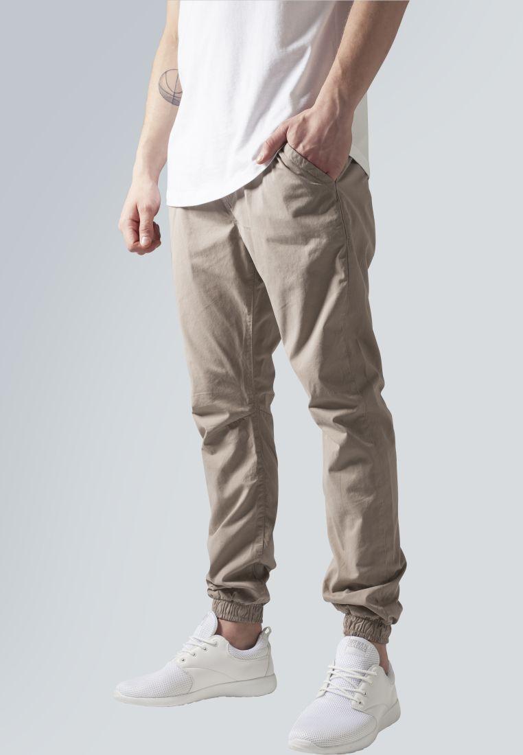 Cotton Twill Jogging Pants - HOUSUT - TTUTB1017 - 1