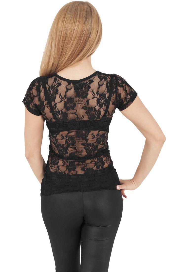 Ladies Back Laces Tee - T-PAIDAT - TTUTB1040 - 1