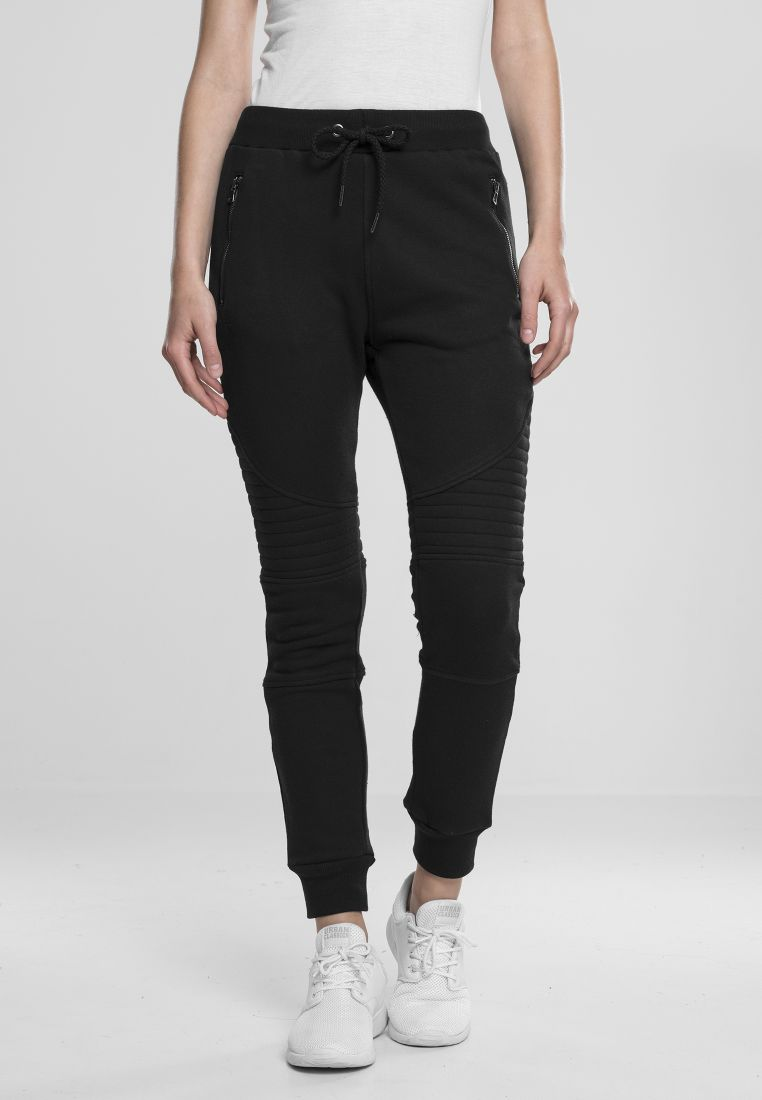 Ladies Melange Biker Sweatpants - COLLEGE HOUSUT - TTUTB1055 - 115