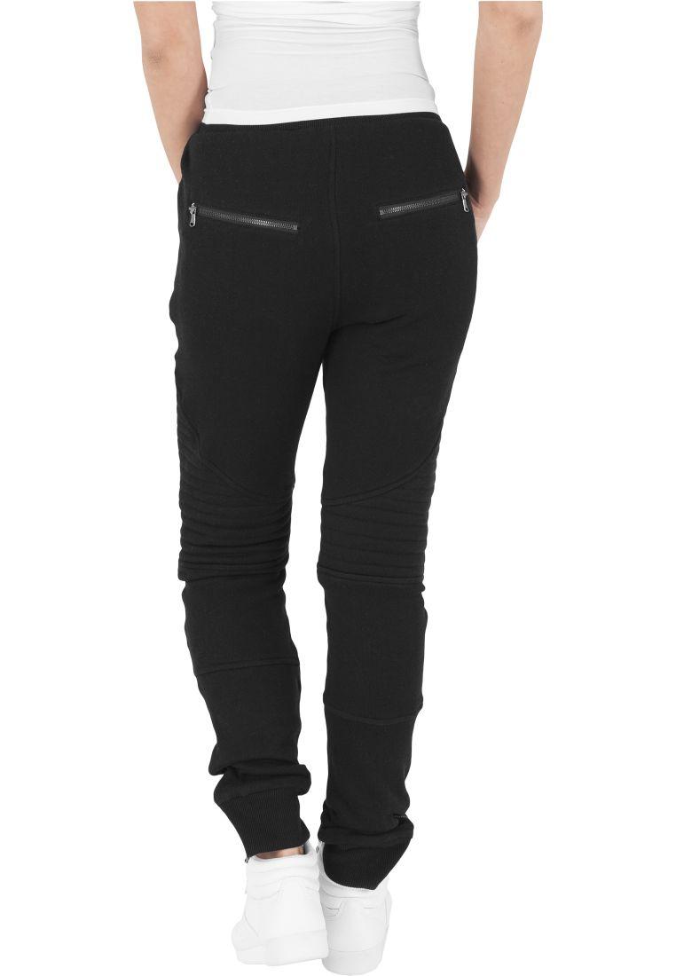 Ladies Melange Biker Sweatpants - COLLEGE HOUSUT - TTUTB1055 - 3