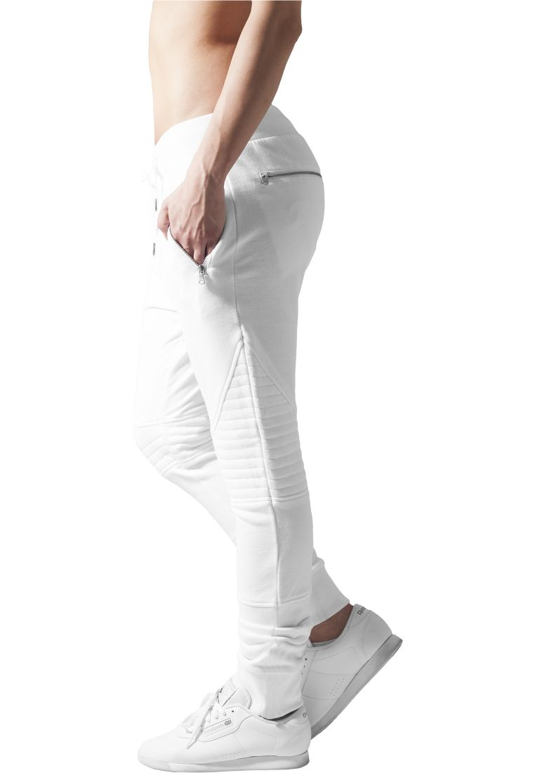 Ladies Melange Biker Sweatpants - COLLEGE HOUSUT - TTUTB1055 - 10