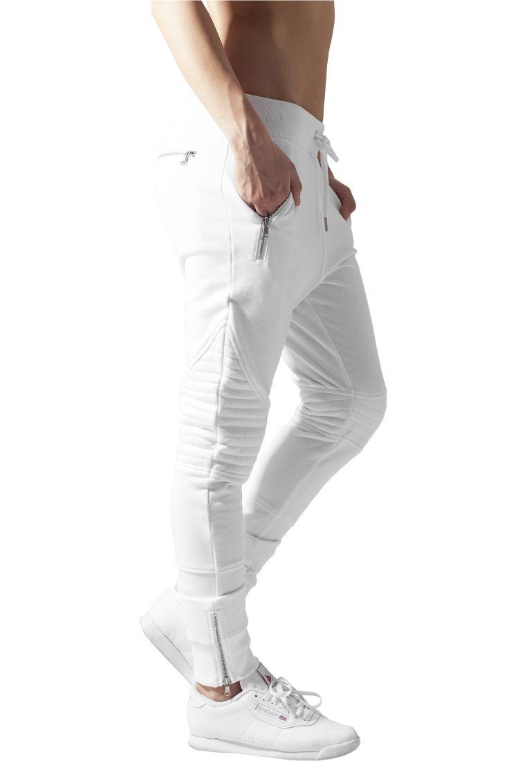 Ladies Melange Biker Sweatpants - COLLEGE HOUSUT - TTUTB1055 - 11