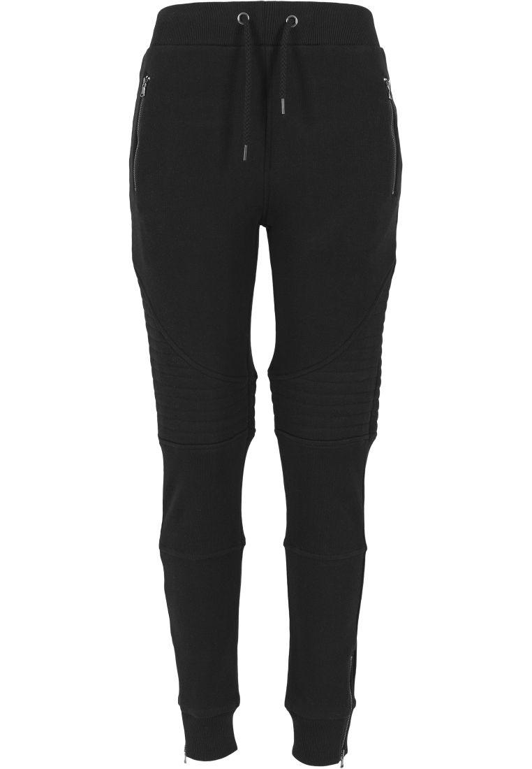 Ladies Melange Biker Sweatpants - COLLEGE HOUSUT - TTUTB1055 - 4