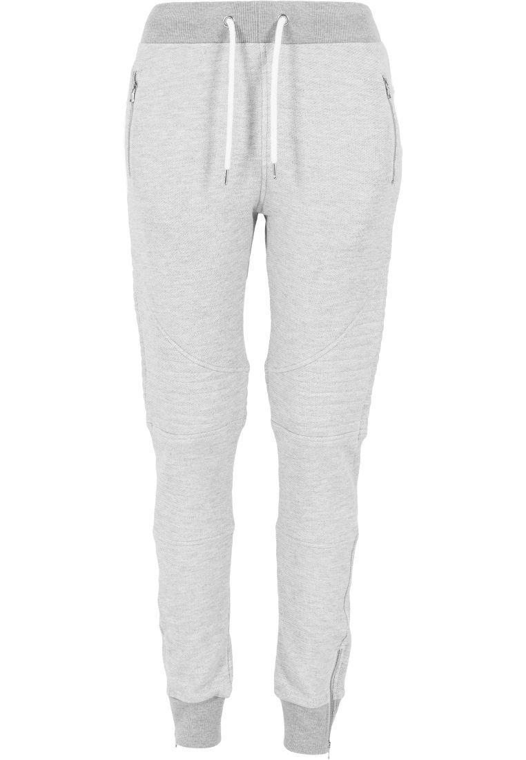 Ladies Melange Biker Sweatpants - COLLEGE HOUSUT - TTUTB1055 - 14