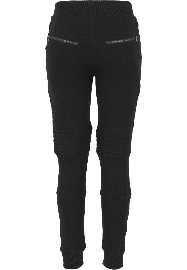 Ladies Melange Biker Sweatpants - COLLEGE HOUSUT - TTUTB1055 - 6