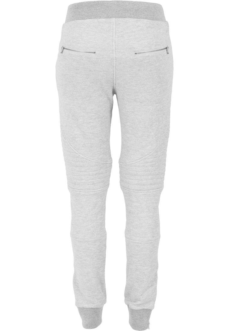 Ladies Melange Biker Sweatpants - COLLEGE HOUSUT - TTUTB1055 - 16