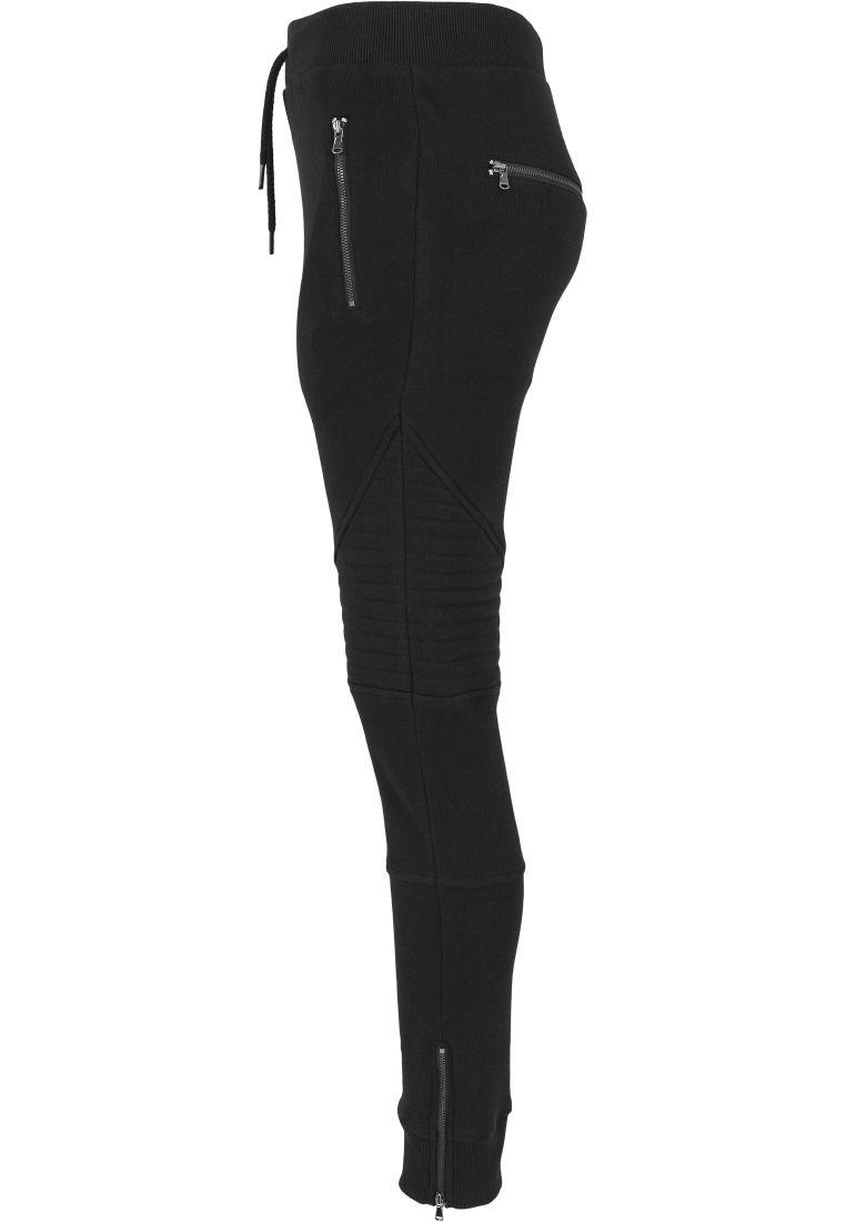Ladies Melange Biker Sweatpants - COLLEGE HOUSUT - TTUTB1055 - 5