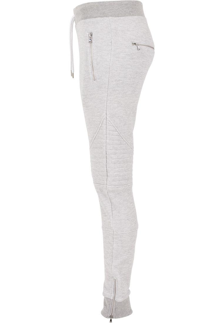 Ladies Melange Biker Sweatpants - COLLEGE HOUSUT - TTUTB1055 - 15