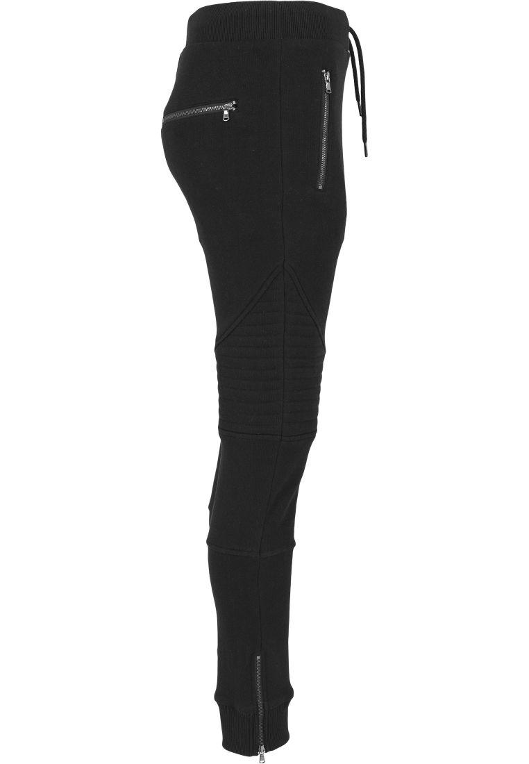 Ladies Melange Biker Sweatpants - COLLEGE HOUSUT - TTUTB1055 - 7