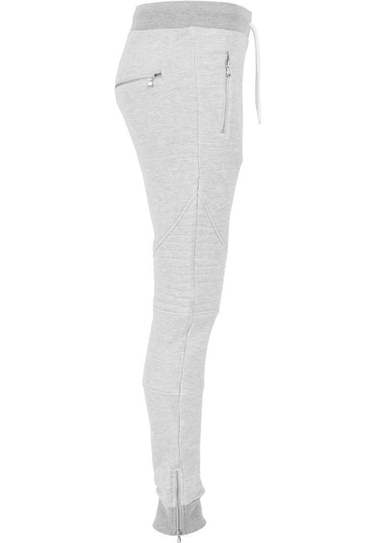 Ladies Melange Biker Sweatpants - COLLEGE HOUSUT - TTUTB1055 - 17