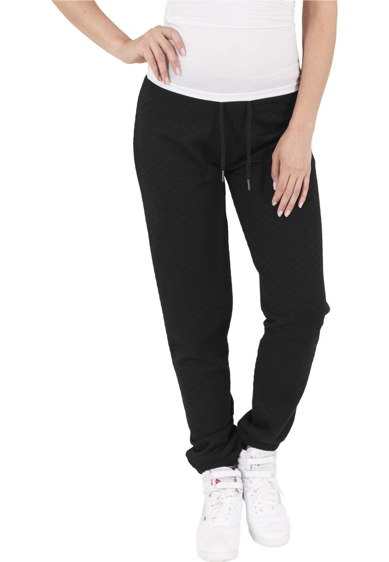 Ladies Quilt Jogging Pants - COLLEGE HOUSUT - TTUTB1072 - 1