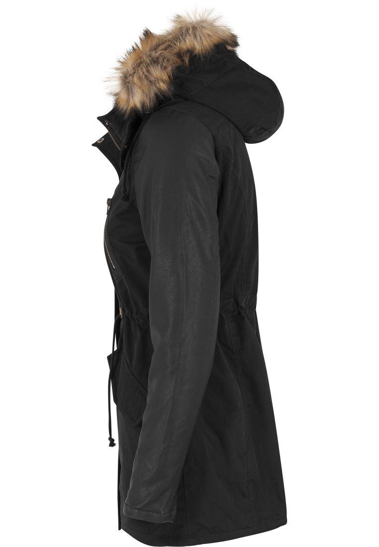 Ladies Leather Imitation Sleeve Parka - TILAUSTUOTTEET - TTUTB1091 - 5