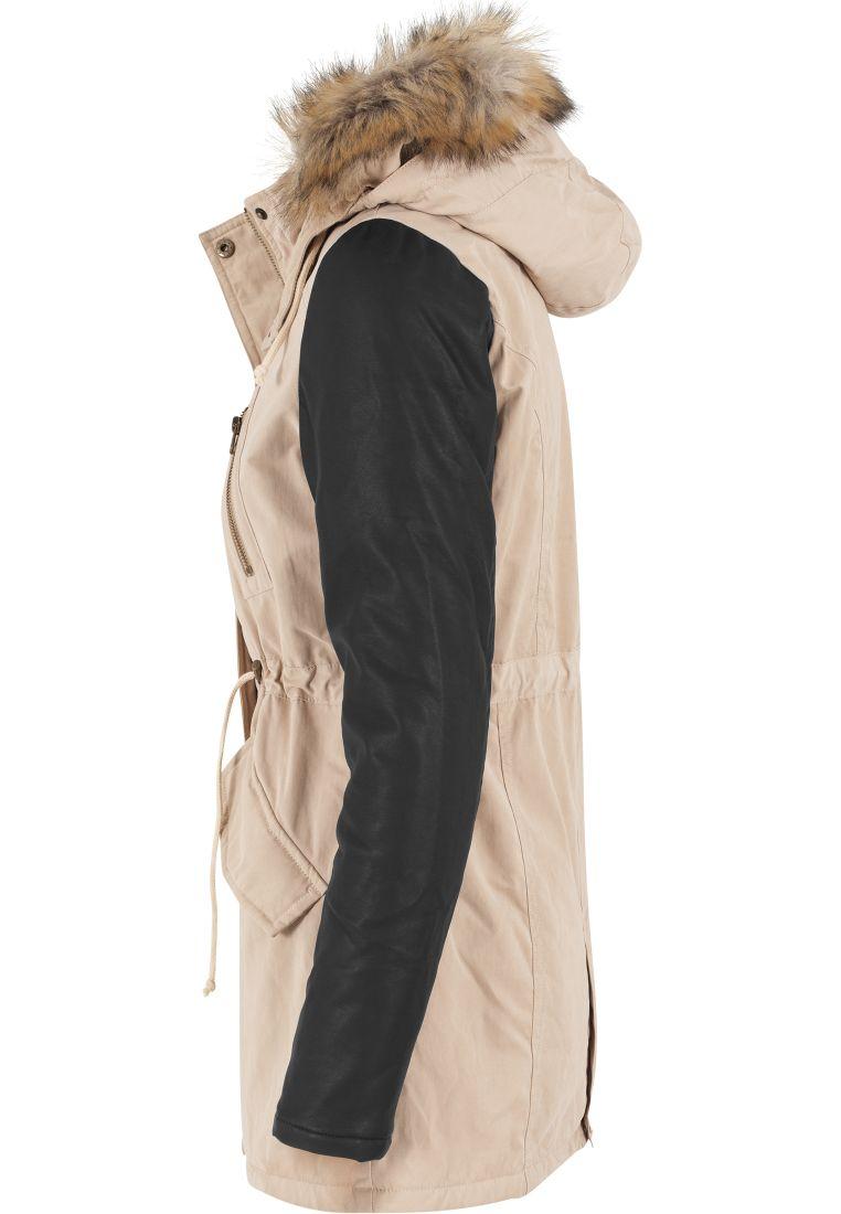 Ladies Leather Imitation Sleeve Parka - TILAUSTUOTTEET - TTUTB1091 - 16