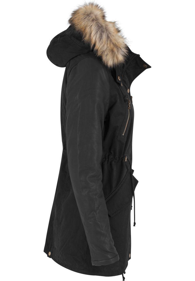 Ladies Leather Imitation Sleeve Parka - TILAUSTUOTTEET - TTUTB1091 - 7