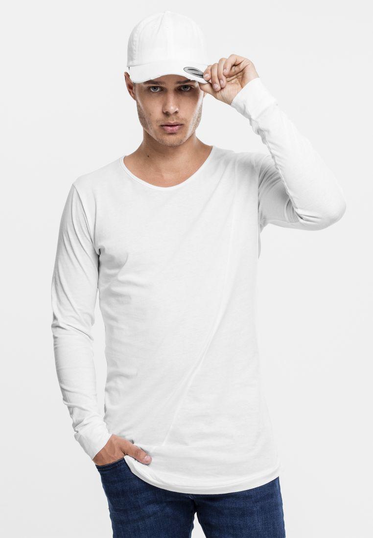 Long Shaped Fashion L/S Tee - T-PAIDAT - TTUTB1101 - 1