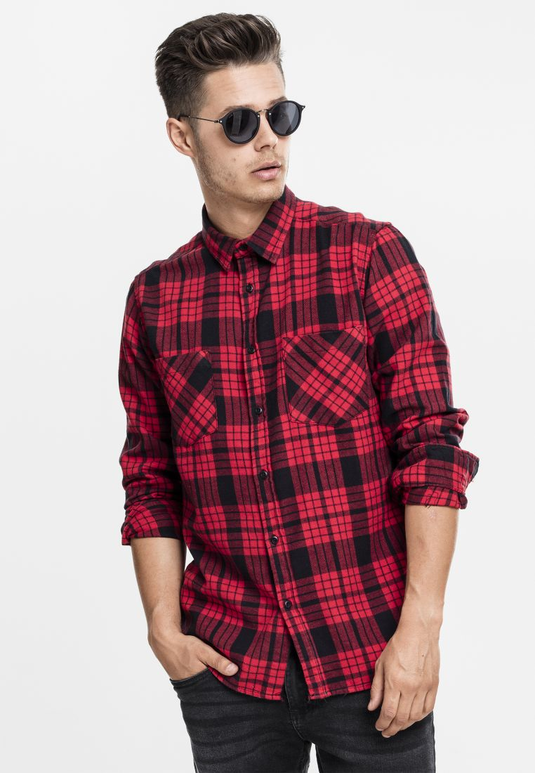 Checked Flanell Shirt 2 - KAULUSPAIDAT - TTUTB1140 - 1