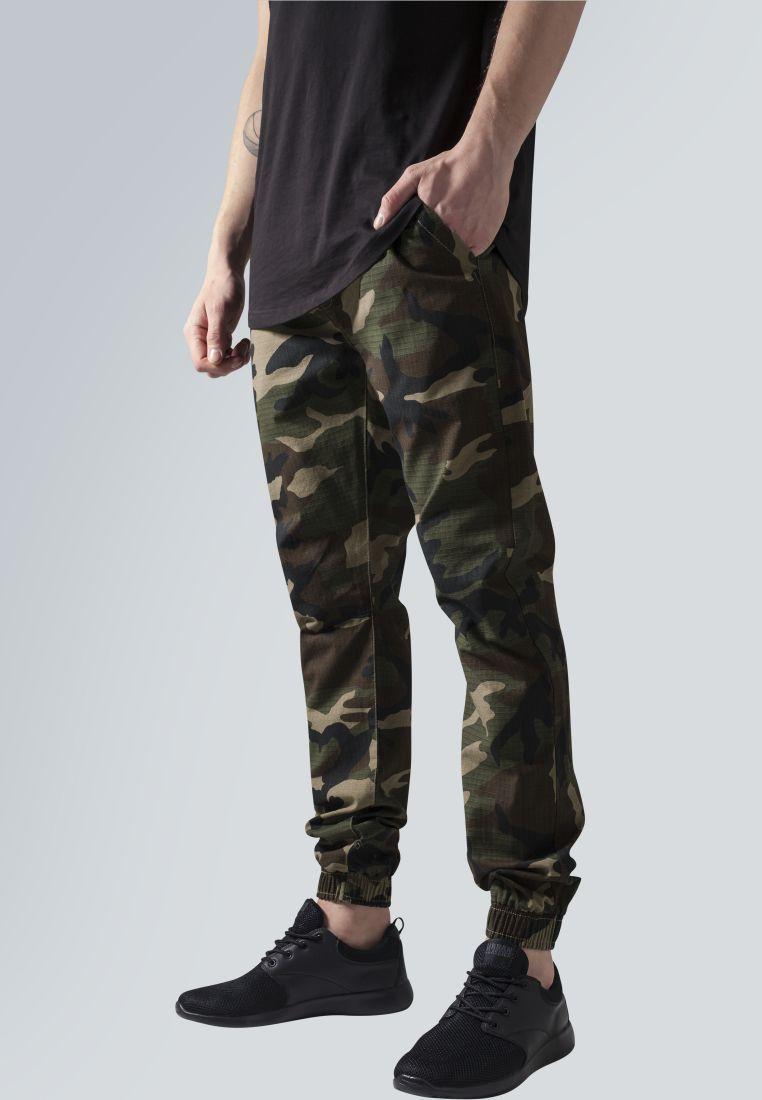 Camo Ripstop Jogging Pants - HOUSUT - TTUTB1148 - 1
