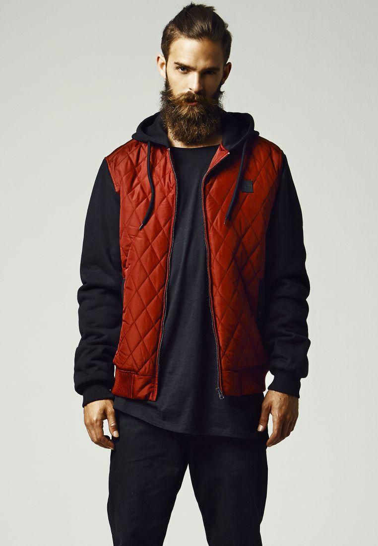 Hooded Diamond Quilt Nylon Jacket - TAKIT - TTUTB1149 - 1